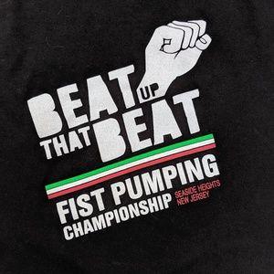 Fist Pumping Championship NJ T Shirt Beat